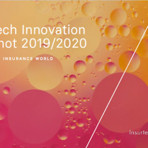 Insurtech Innovation Snapshot 2019 2020 - cover